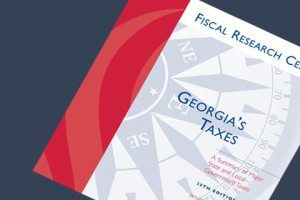 Picture of cover of Fiscal Research Center Georgia Tax Report